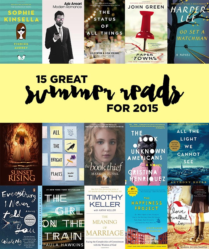 15 Great Summer Reads for 2015.