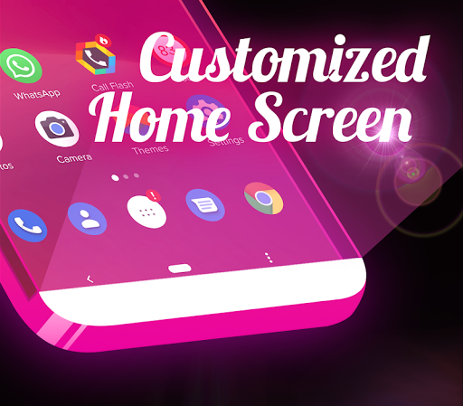 Screenshot for Color Flash Launcher - Call Screen, Themes in Hong Kong Play Store