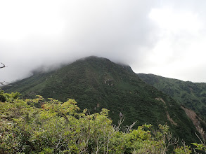 赤谷山も雲に覆われ・・・