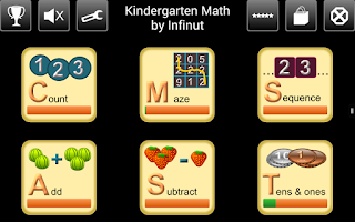 Screenshot of Kindergarten Math
