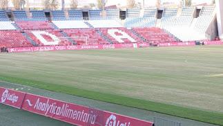 Aspecto del Estadio de los Juegos Mediterráneos.