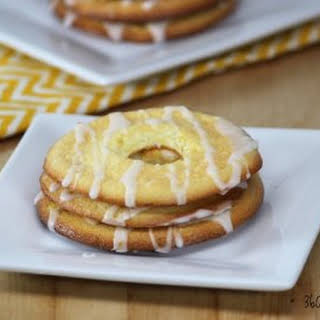 Lemon Cloud Bread Donuts.