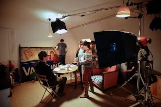 Photo: Jour 1 - Plateau de tournage Int/nuit  Test de rendu en Tugnsten