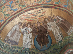 Photo: The mosaics in the dome are just remarkable.