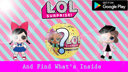 LOL Toy Dolls : Opening surprise eggs 1.0 screenshots 6