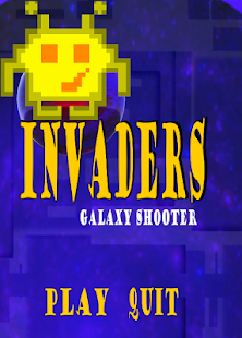 Invaders Galaxy Shooter - náhled