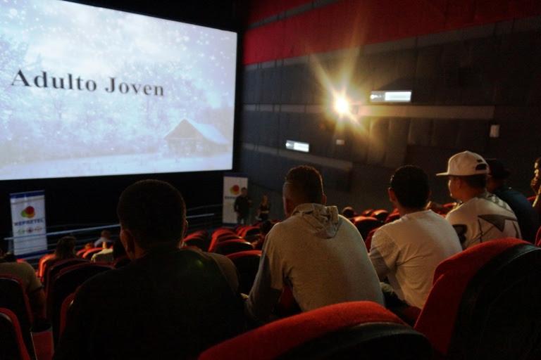 Imagen NOVA CINEMAS ABRIÓ SUS PUERTAS A 11 JÓVENES PRIVADOS DE LIBERTAD
