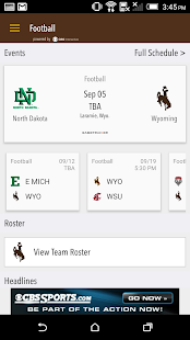 WYO Gameday LIVE- screenshot thumbnail