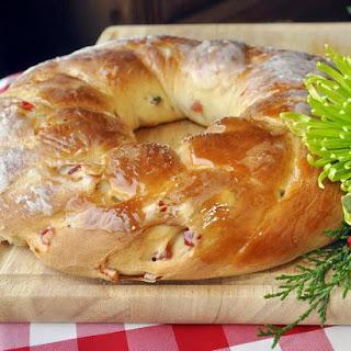 Christmas Fruit Bread Ring
