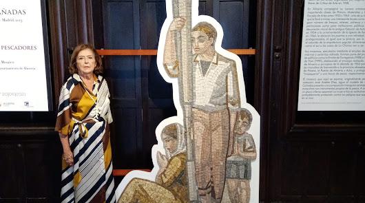 El mosaico de Luis Cañadas donado al Ayuntamiento que no encuentra su sitio