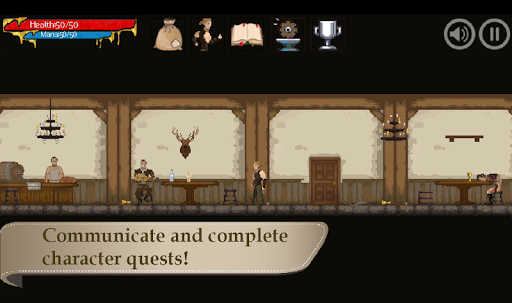 RPG platformer - Gothic: ArnaLLiA android2mod screenshots 4