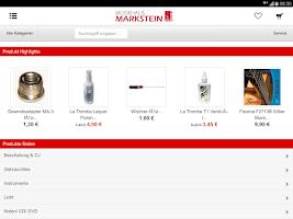 Screenshot of Musikhaus Markstein
