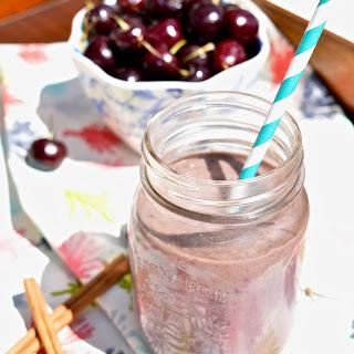 Cherry Cheesecake Smoothie (GAPS, SCD, Paleo, Gluten Free, Dairy Free).