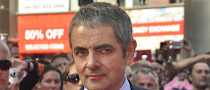 Rowan Atkinson to be dad at  ...