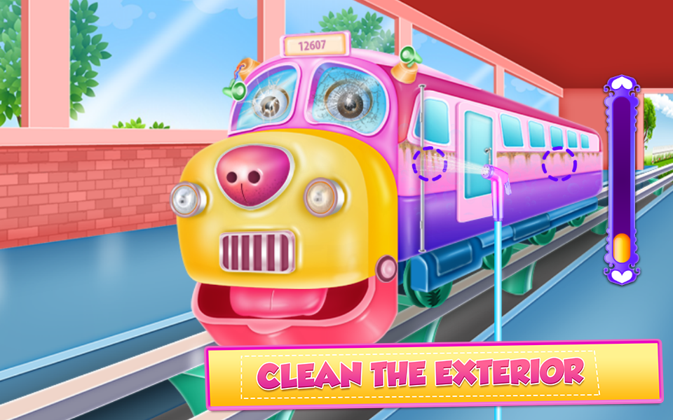 Train Cleaning and Fixing- screenshot