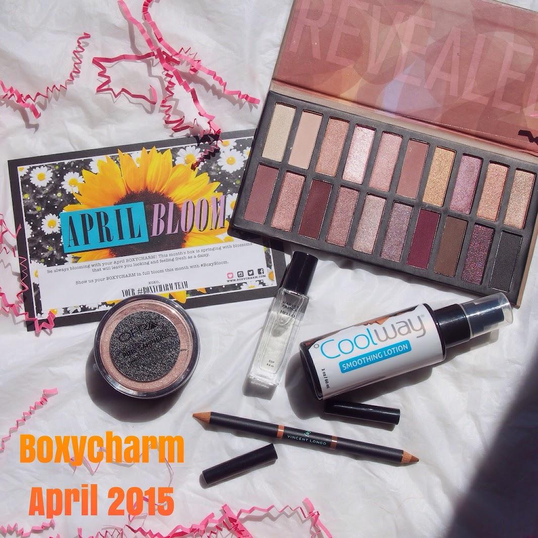 Boxycharm April 2015