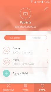 Lactapp: Embarazo y Lactancia: miniatura de captura de pantalla