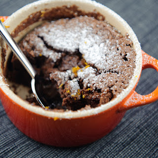 Orange-Chocolate Soufflés