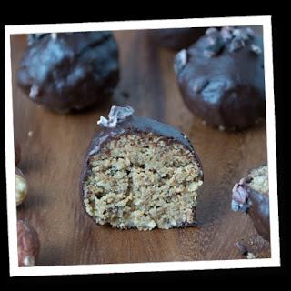 Sugar-Free Chocolate Hazelnut Energy Bites