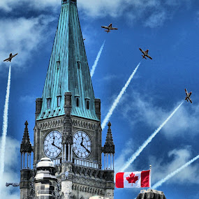 CANADA DAY by Costas Tsirgiotis - Artistic Objects Other Objects ( pwcflags )