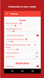 Brain Focus Productivity Timer screenshot 4