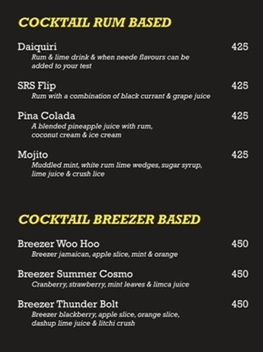The Flip Bar menu 3