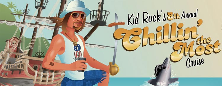 Kid Rock puts on an annual Chillin' the Most cruise toward the end of spring break.