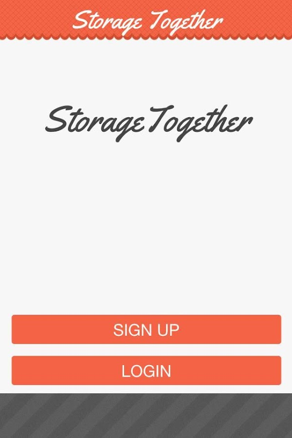 Storage Together Early Adopter- screenshot