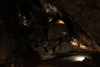 Photo: The path inside the cave