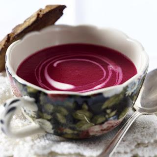 Wintry Beet Soup.