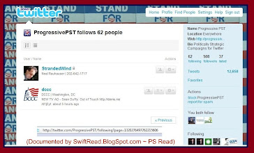 Photo: Note the 1st that http://progressivepst.com followed on Twitter when their http://twitter.com/ProgressivePST  account was created.   http://twitter.com/ProgressivePST/following?page=1320276497762215606
