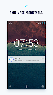Aerium - Weather, redefined.- screenshot thumbnail