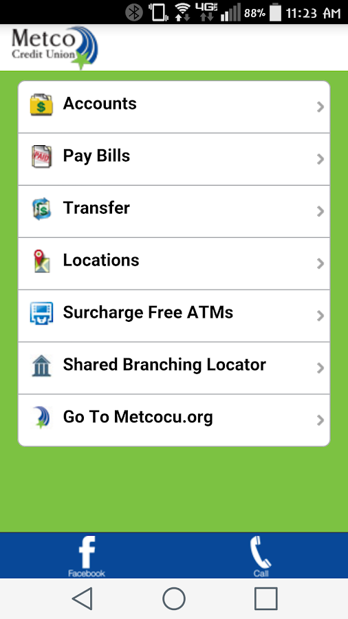 Metco Credit Union Mobile- screenshot