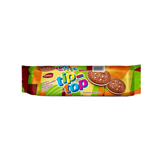 galletas tip top chocolate 80gr