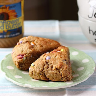Double Sunflower Seed Scones