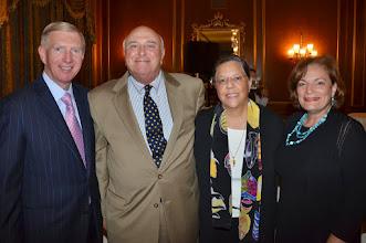Photo: BBA President Paul Dacier, Shep Scheinberg, Alice Alexander, and guest.