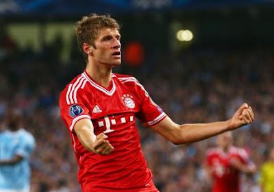 Thomas Muller entre dans l'histoire du football allemand !