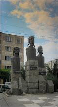 """Photo: Grupului statuar """"Horea, Closca si Crisan"""" - din parul din Mr.3 - 2017.08.07"""