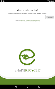 ShakeRecycles- screenshot thumbnail