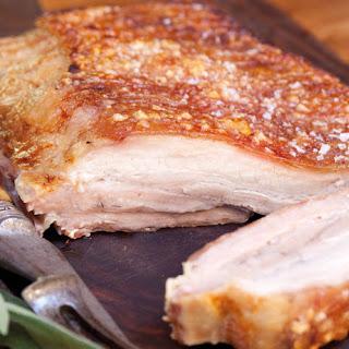 Crispy Pork Belly.