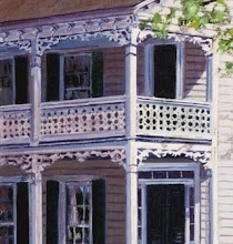 Photo: Turkey-buzzard gingerbread on Dr. Manney House from painting by Mary Warshaw