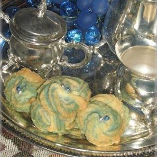 Blue Princess Cookies.