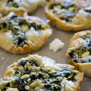 Spinach Feta Mini Tarts