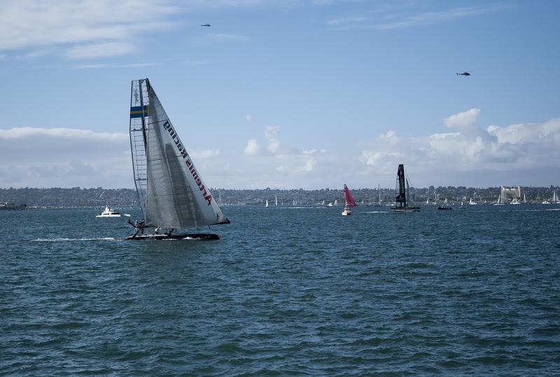 Photo: America's Cup Match Race. Artemis Racing, San Diego CA