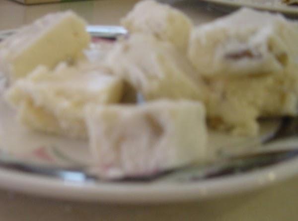Vanilla Walnut Fudge Recipe
