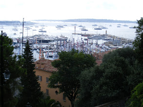 Photo: Close inspection of the Old Port moorings reveals no shortage of mega-yachts here.