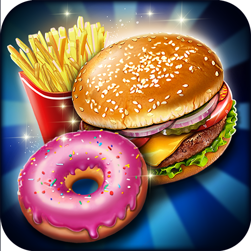 Crazy Burger Recipe Cooking Game: Chef Stories
