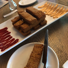 Chickpea Fries!  Divine!!