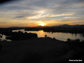 Photo: (Year 3) Day 40 - Crossing the Colorado River as We Leave Blythe