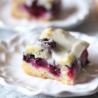 Glazed Berry Sugar Cookie Bars